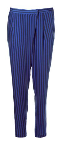 #Fashion STRIPED CROSSOVER TROUSERS - Trousers - Zara. Just gorgeous!