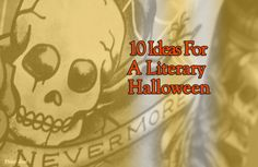 10 Ideas For A Literary Halloween Book Clubs, Book Club Books, Book Lists, Book Club Recommendations, Reading Groups, Literary Quotes, Invite Your Friends, Black Cats, Ghosts
