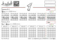1000 images about ce1 on pinterest plan de travail sons and multiplication - Evaluation multiplication ce2 a imprimer ...