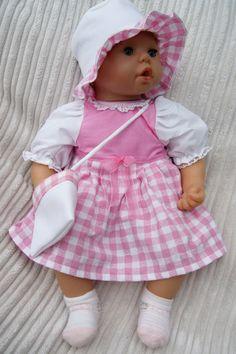 """Puppenkleid """"Sissi"""" von Landhausatelier auf DaWanda.com"""