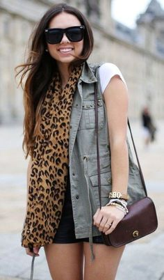 Chiffon Leopard Print Scarves,Long Leopard Print Scarves for Fahion Girls,Fashion Chiffon Scarves in 2013 Fall/Winter #leopard #chiffon #scarf #girls www.loveitsomuch.com