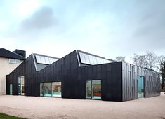 Primus Arkitekter upgrades an old factory into a chic solar-powered library and…