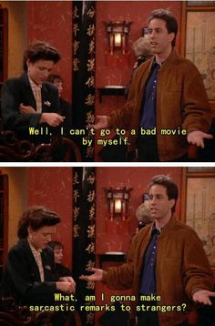 Life lessons from Seinfeld