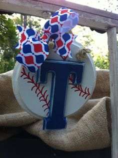 Texas Rangers Baseball Mini Classic Sign by SouthernFCreations, $20.00