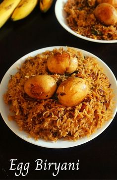 egg biryani recipe in cooker, anda biryani - Yummy Indian Kitchen