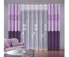 Gardinenvorschläge gardinen ideen vorhänge lila frühling