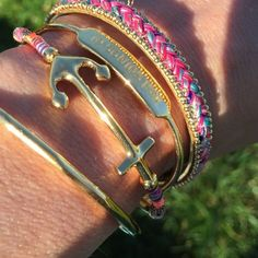 Arm Party and Anchor Braclet http://www.stelladot.com/sites/meganebrown