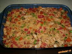 Kuskus s kuřecím masem děkuji VIKI No Salt Recipes, Chicken Recipes, Cooking Recipes, Healthy Recipes, Czech Recipes, Ethnic Recipes, Casserole Dishes, Macaroni And Cheese, Healthy Living