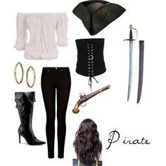 DIY Halloween Costumes: Pirate