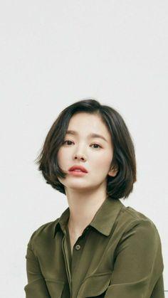 Girl Short Hair, Short Girls, Short Hair Cuts, Hair Inspo, Hair Inspiration, Korean Short Hair, Shot Hair Styles, Song Hye Kyo, Hairstyles Haircuts
