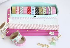 Washi Tape Organizer 9 | By Blooming Homestead for Silhouette America