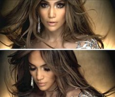 On the floor- Jennifer Lopez Makeup.. I love this look!