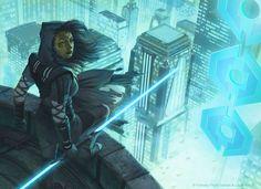 Star Wars: Force and Destiny - Jedi Shadow by AnthonyFoti.deviantart.com on @DeviantArt