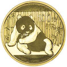 Panda 1/4 Unze Gold 2015,  9999/10000 Gold