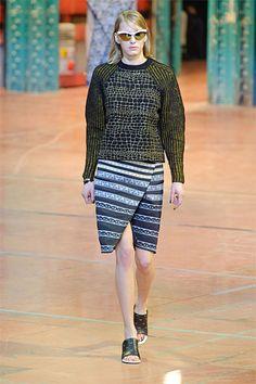 Alligator Sweater at Kenzo Fall 2013 #fashion