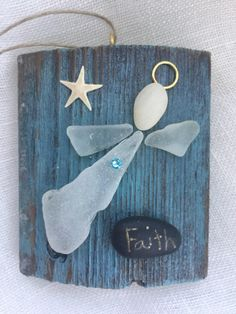 A personal favorite from my Etsy shop https://www.etsy.com/listing/548121276/beachcomber-faith-angel