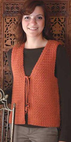 Westport Vest pattern by Oat Couture