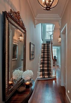 95 Home entry hall ideas for a first impressive impression When Home deco and DIY need inspiration 95 Home entry hall ideas for a first impressive Home entry hall ideas for a first impr Entrance Hall Decor, Decoration Hall, Entry Hall, Entrance Halls, Hall Decorations, Small Entrance, Hallway Ideas Entrance Narrow, Modern Hallway, Entrance Design