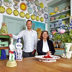 The creations of South African ceramicist Hylton Nel bring fine art into the everyday for one collector and her dealer.