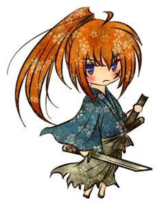 Kenshin ( Himura Kenshin X Anime Manga, Anime Art, Era Meiji, Chibi, Samurai Anime, Zelda Tattoo, Hayao Miyazaki, Rurouni Kenshin, Girls Anime