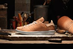 While adidas has released countless iterations of the Stan Smith in recent months, they have now linked with Horween Leather for a pair of premium takes.