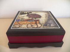 Caixa de bijuterias   Neiva Artes em MDF   Elo7