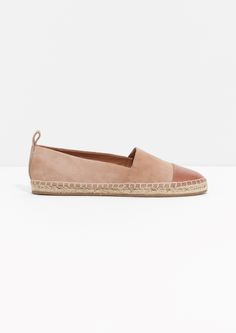 & Other Stories | Leather and Suede Espadrilles