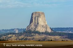 Devil's Tower National Monument, Wyoming. According to Kiowa Native American legend, Devils Tower National Monument was created when seven young girls chased by bears jumped on a low rock and prayed for help. The rock rose, lifting the girls out of reach. The bears then scratched deep gouges in the enormous pillar of rock.