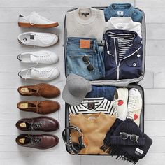 What to pack for the long weekend from @thepacman82