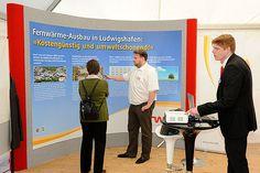 Ludwigshafener Klimawoche 2013 - Die Woche über lief in und vor der Rhein-Galerie ein vielfältiges und informatives Programm.