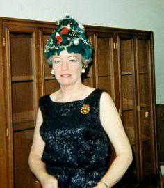 Inez: Bringing you festively garish chapeaus & bad attitude since 1964.