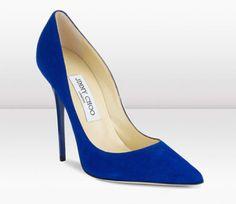 Zapatos de novia en color azul de Jimmy Choo - Foto Jimmy Choo