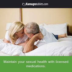 Maintain your sexual health with licensed medications.