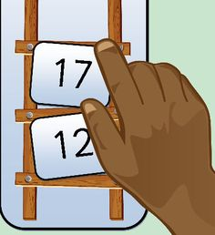 Game that focuses on place value and using the  symbols. Includes ladder game boards, number cards up to 100 (in Sassoon font) plus spare blank cards and a spinner. Full instructions included