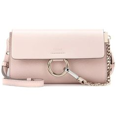 ce94eafe6f2 Chloé Faye Mini Leather Wallet Bag (€605) ❤ liked on Polyvore featuring bags