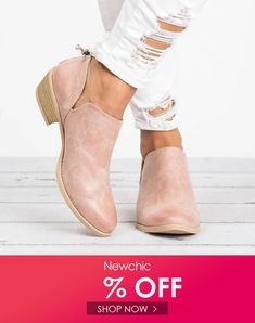Large Size Women Casual Solid Color Zipper Low Heel Ankle Boots is hot-sale. Come to NewChic to buy womens boots online. Cute Ankle Boots, Low Heel Ankle Boots, Low Heels, Cute Shoes, Women's Shoes, Bag Icon, Shoe Size Conversion, Boots Online, Types Of Shoes