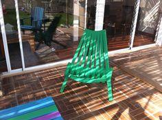 "Silla kentucky style, madera de pino 2""x2"""