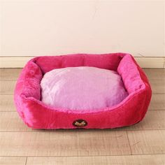 ALUS- Four Seasons cotton litter kennel cat house pet Waterloo small and medium dogs and cats articles (Rose Red) *** Hurry! Check out this great product : Dog house