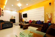 simple indian living room designs - Google Search