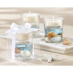 Seashells Seashell Gel Tealight Holder Nuptial Knick Knacks Your Day At The Beach
