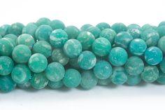 matte Russian amazonite jewelry beads  unpolished amazonite