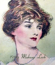 1910 make up - Buscar con Google