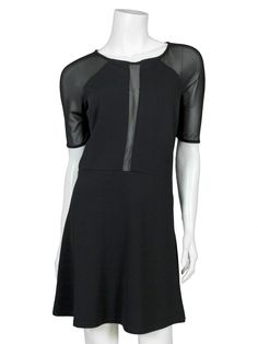 Damen Jerseykleid, schwarz von esperance Paris bei www.meinkleidchen.de