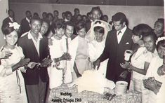 Old school Habesha wedding 1969