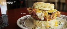 "Try Pine State Biscuits' ""The Reggie"" and ""The Chatfield."""