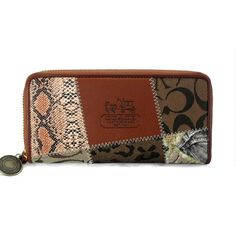 Our Coach Holiday Matching Large Brown Multi Wallets EDC Lets You Become A Eye-Catching Person!