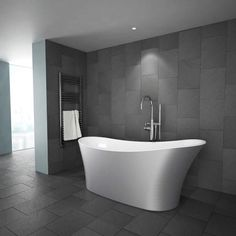 Add luxury to your bathroom with this gorgeous freestanding bath from Milano