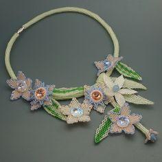 Kwiatowa kolia - Hekate Art - Kolie