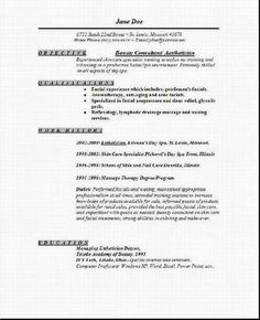 Estheticians, Cover letter sample and Letter sample on Pinterest
