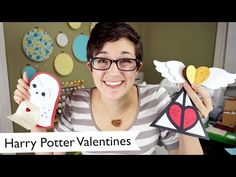 Learn how to make these three Harry Potter Valentine's Day cards with this video tutorial on YouTube. There's a golden snitch, a deathly hallows symbol, and an owl delivering a letter!